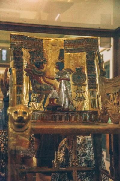 King Tut's Throne