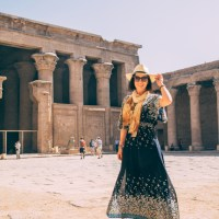What I Wore for Visiting Edfu & Kom Ombo