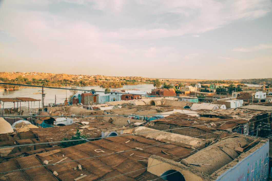 The Nubian Village from above