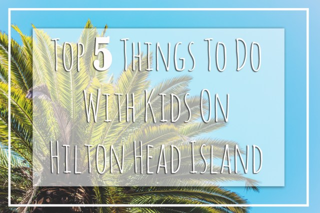 Top 5 Things To Do With Kids on Hilton Head Island 01