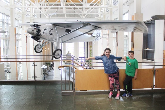 Visiting the Missouri History Museum with Kids