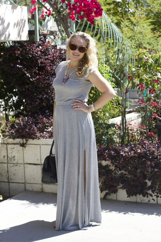 Show Pony, Heather, Los Angeles, Maxi dress, Dressing for Summer,  LuckyFABB, Shopping, 3rd Street, West Beverly Hills,