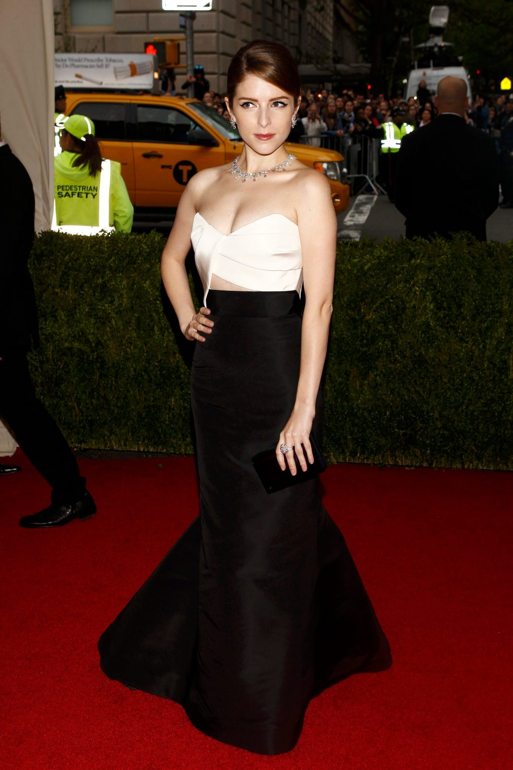 Anna Kendrick arrives at the Metropolitan Museum of Art Costume Institute Gala Benefit in New York