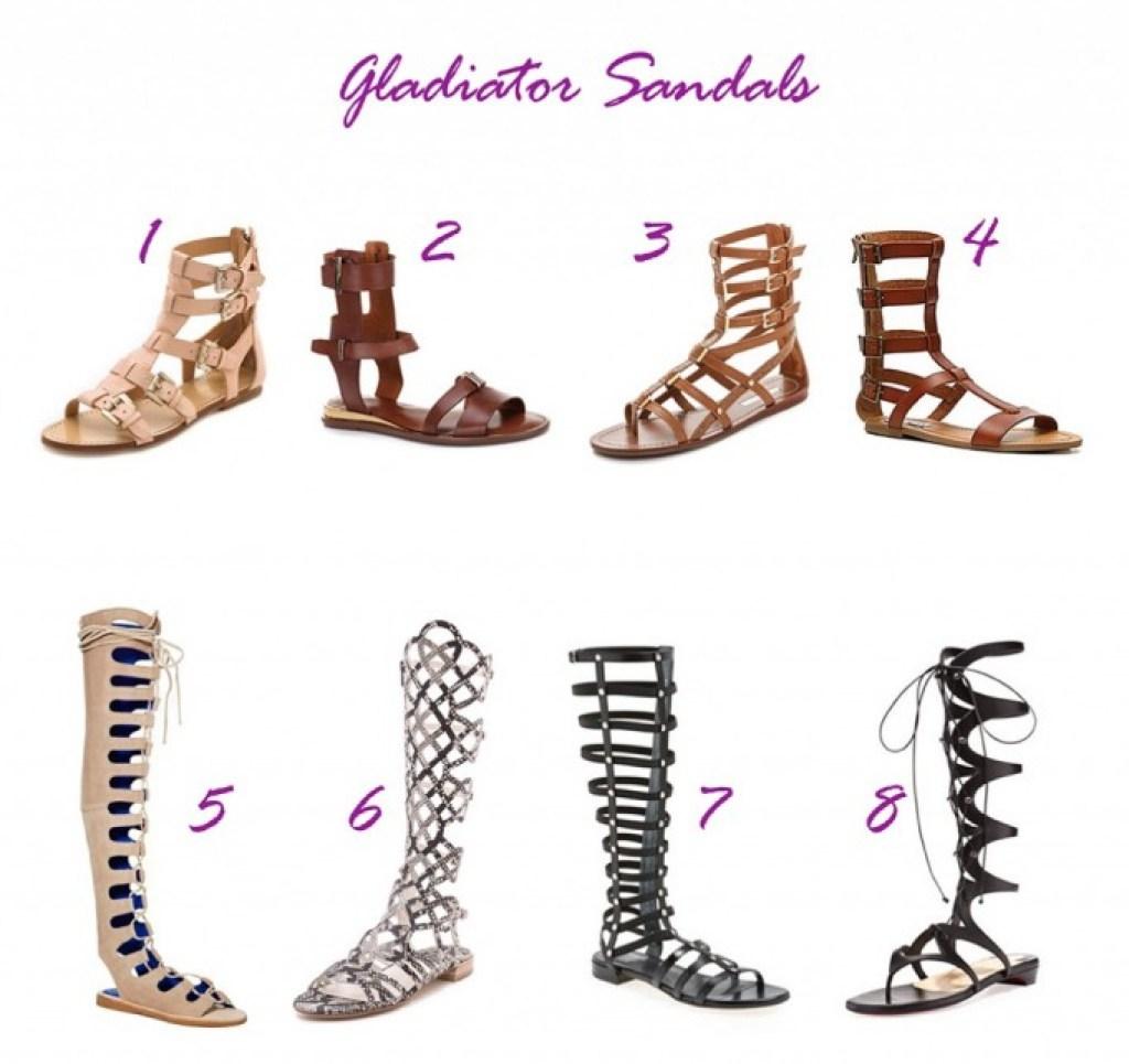shoe roundup - gladiators