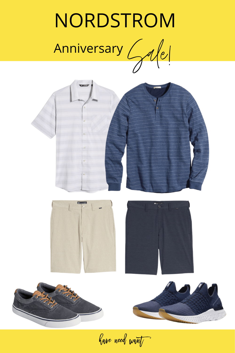 Men's casual outfit ideas pulled from the Nordstrom Anniversary Sale