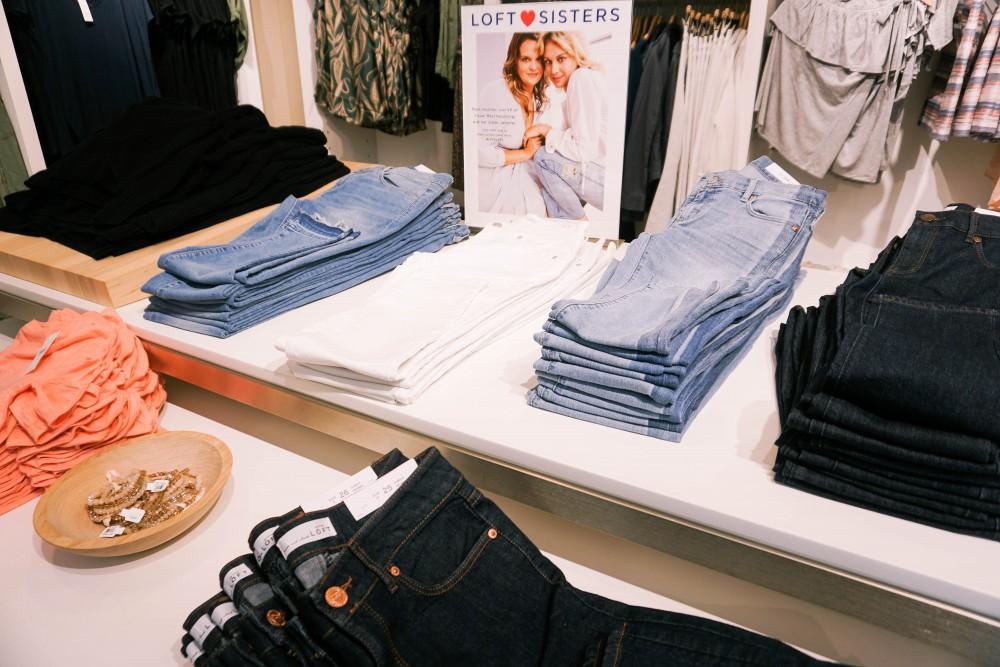 Back to School Shopping-Ann Taylor LOFT-Fall Denim Trends