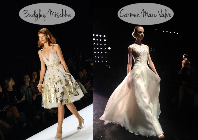 Badgley-Mischka-Carmen-Marc-Valvo-NYFW-SS14-Runway-Fashion-Week