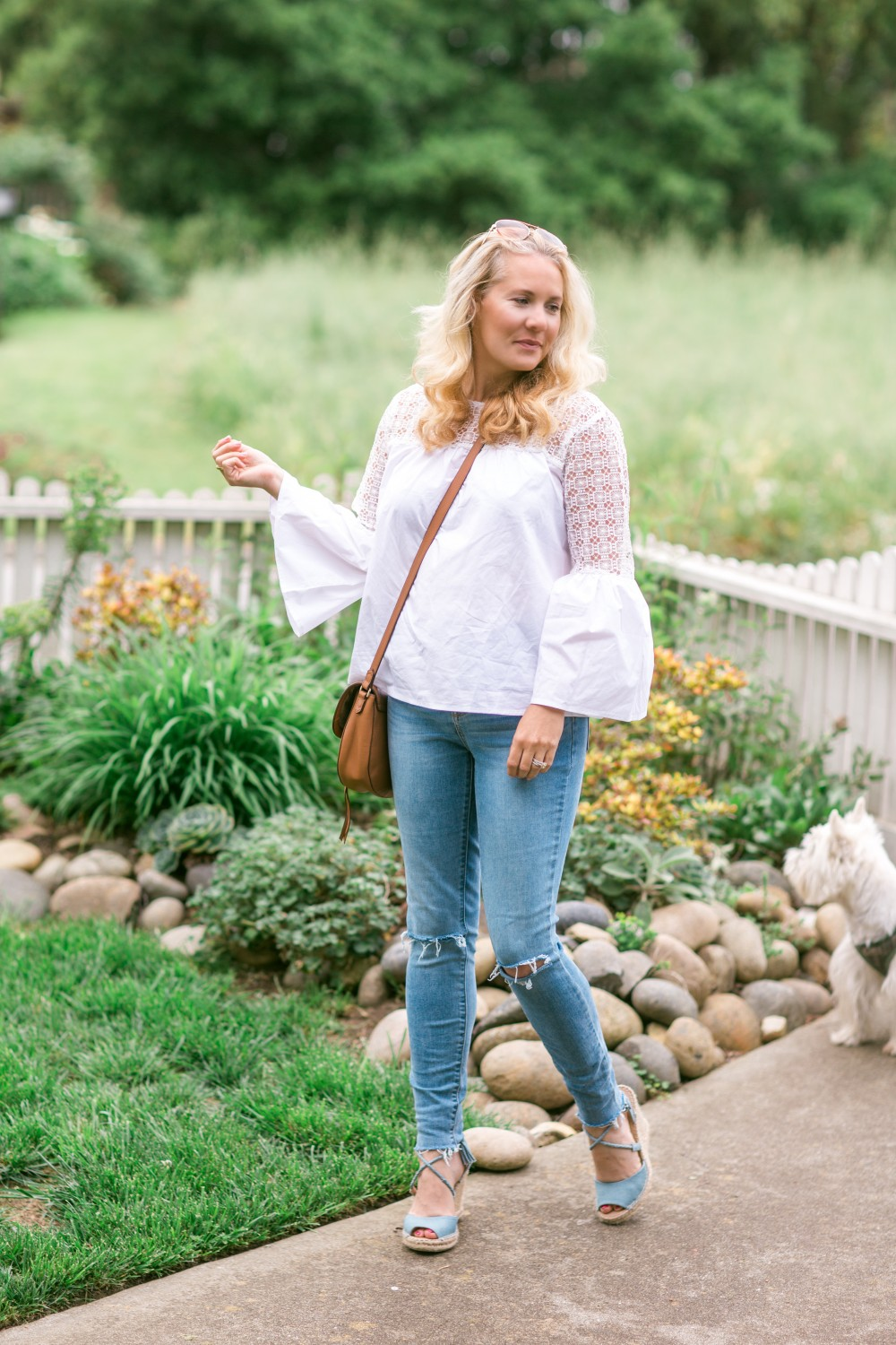 Eyelet Trim Blouse, Target Style, Spring Outfit Inspiration, Have Need Want, Mom Style