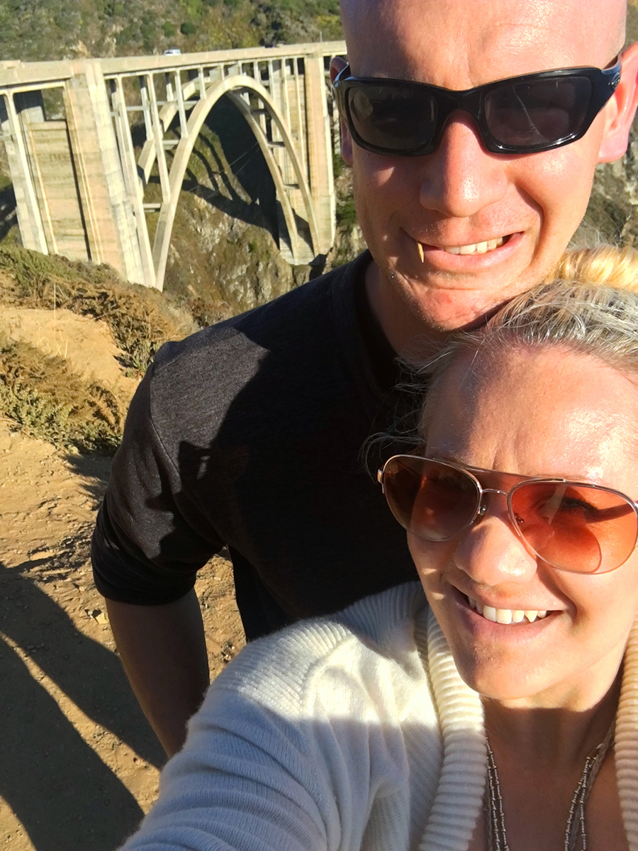 Bixby Bridge selfie-Short arms problem