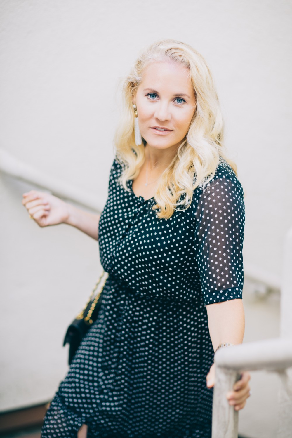 Black and White Polka Dot Maxi Dress-Who What Wear for Target-Target Maxi Dress-Polka Dot Dress-Outfit Inspiration-Bay Area Fashion Blogger-Have Need Want 8