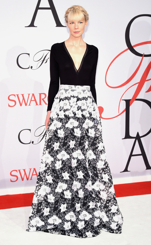 CFDA Awards Erin Fetherston Floral Gown