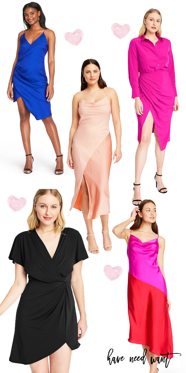 Silky slip dresses by Cushnie are going to be more affordable thanks to Target's designer dress collaboration! Head to the post to check out my top picks and save for later so you don't forget to shop when it launches! #cushnie #cushniedresses #slipdress #slipdresses #summerdresses #targetcollaboration