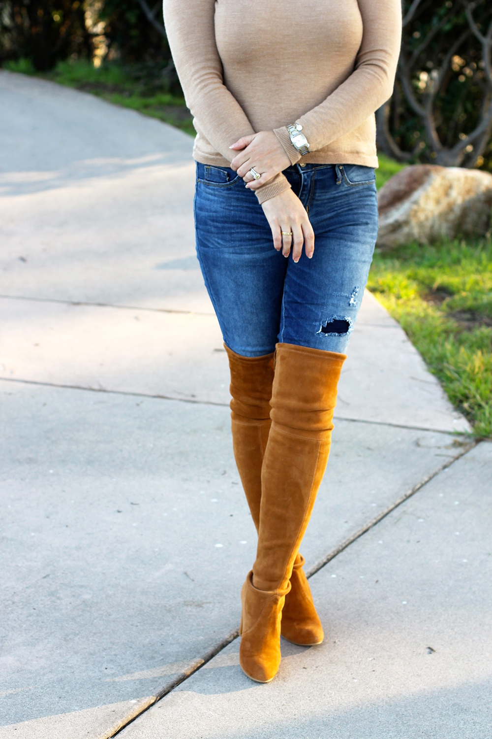Camel Cut-Out Sweater-Outfit Inspiration-Stuart Weitzman-Mom Style-Have Need Want 5