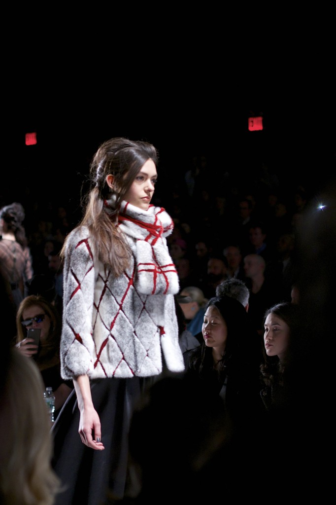 MBFW, FW 15, Fashion Week, Carmen Marc Valvo, On the Runway