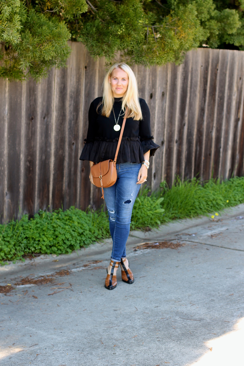 Cinq a Sept Flounced Ruffle Top-Outfit Inspiration-Date Night Outfit-Covet by Stella & Dot-Have Need Want 10