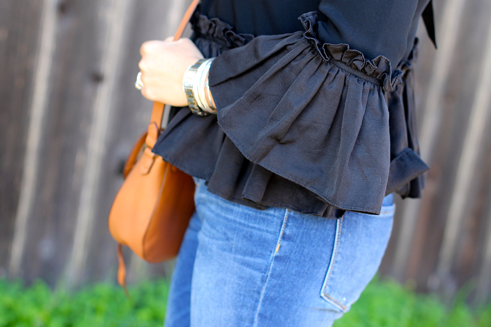 Cinq a Sept Flounced Ruffle Top-Outfit Inspiration-Date Night Outfit-Covet by Stella & Dot-Have Need Want 9