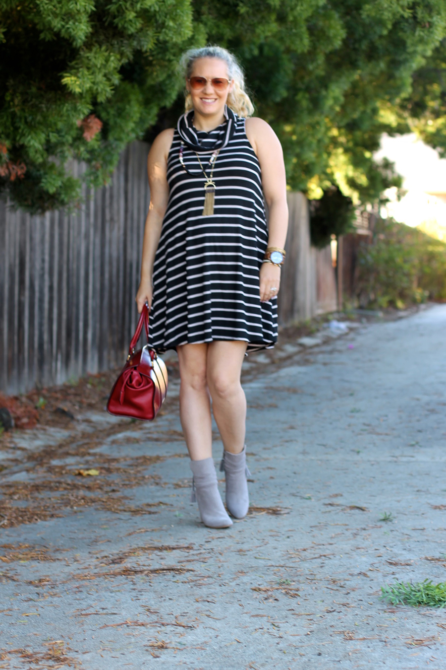 cowl-neck-shift-dress-have-need-want-steve-madden-booties-burberry-handbag-bay-area-fashion-blogger-13
