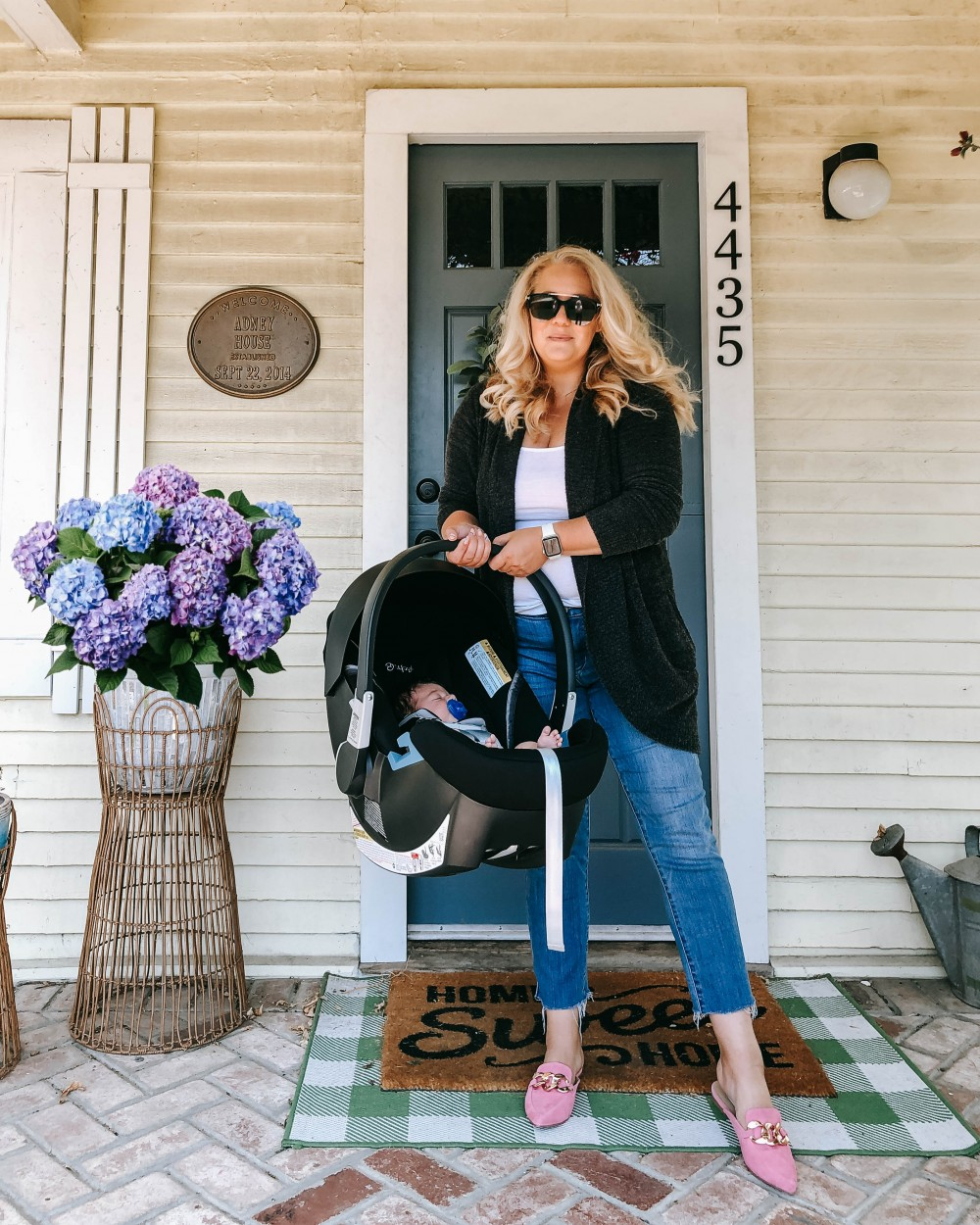 Cybex Aton 2 SensorSafe Car Seat Review. Sharing the safety features of Cooper's infant car seat and reasons why I decided to go with this on. Click on over to the blog post to give it a read.
