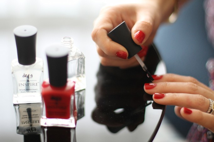 Defy & Inspire Nail Polish-Target Style Beauty-The Final Rose-Perfect Red Nail Polish