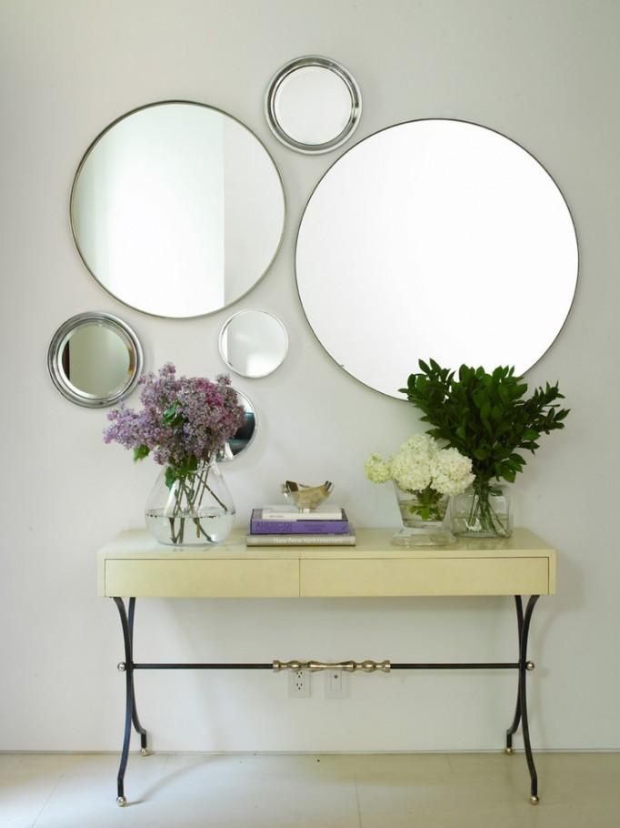 Delightful-Entryway-Wall-Decor-Ideas-for-Hall-Contemporary-design-ideas-with-Delightful-console-table-empire