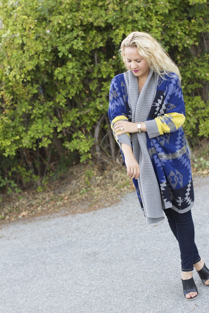 Fall Fashion Inspiration, Blanket Sweater, Rent the Runway Unlimited, Target Style, Fashion Blogger, Aztec Blanket Sweater 3