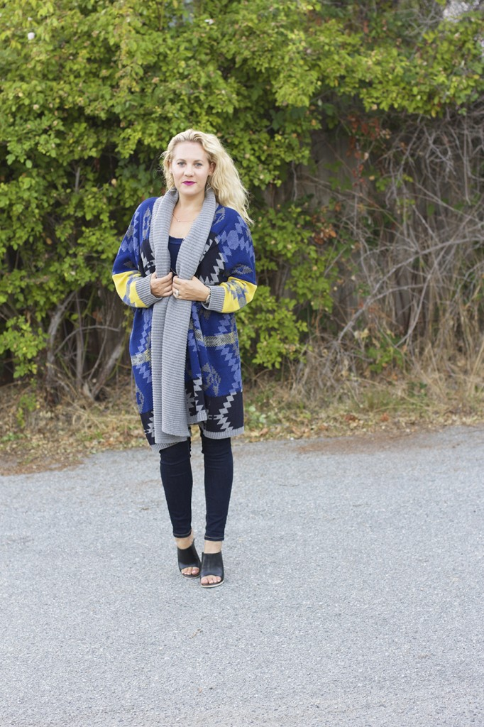 Fall Fashion Inspiration, Blanket Sweater, Rent the Runway Unlimited, Target Style, Fashion Blogger, Aztec Blanket Sweater 8