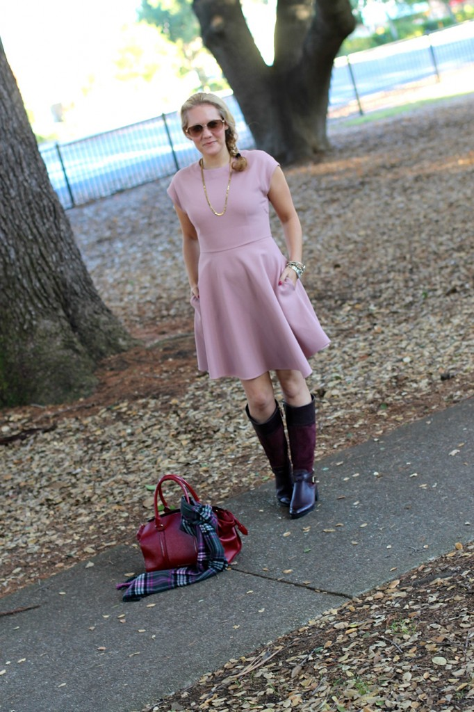 Franco Sarto-Winter Style with ShoeBuy-Tibi dress-Coach-Plaid Scarf-Have Need Want-Outfit Inspiration 7