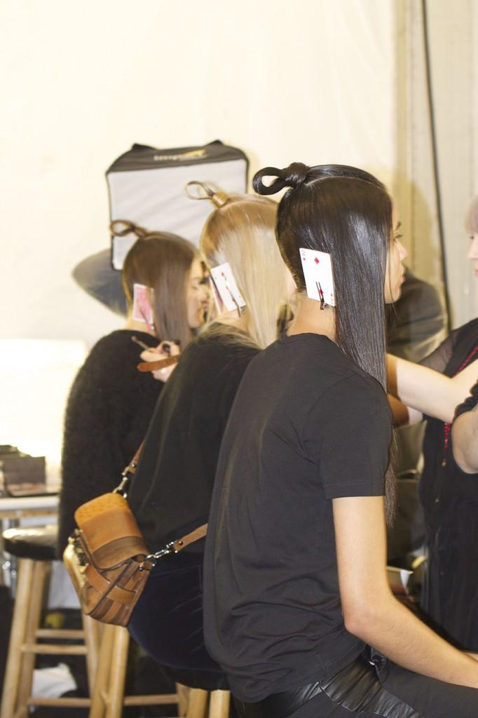 Hair and Makeup AAU backstage