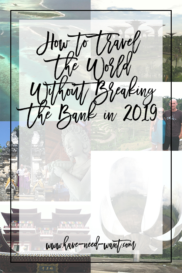How to Travel The World Without Breaking The Bank in 2019 today on Have Need Want! Spilling the beans on a great new travel booking site that is going to make all your travel dreams possible! Click on the photo to read the post + learn how you could score yourself a buddy pass worth $100!!! #traveldeals #travel #travelgoals #discountedtravel #worldtraveller