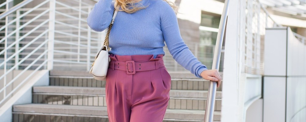 How to Wear Paperbag Waist Pants