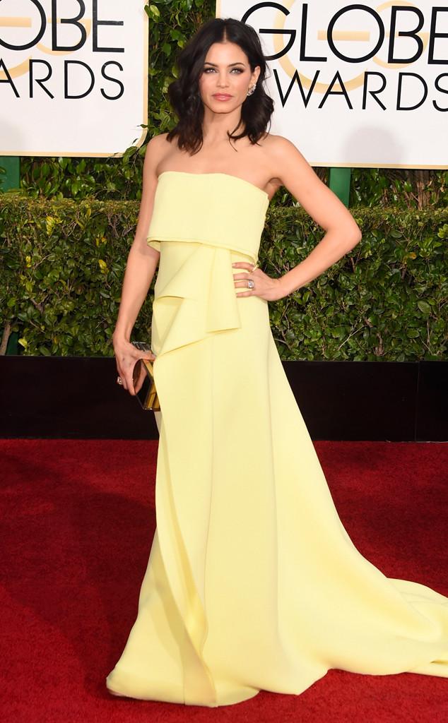 Jenna Dewan-Tatum in Carolina Herrera