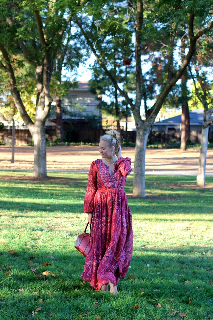 Joie Molly Maxi Dress-Fall Floral-Floral Joie Maxi Dress-Outfit Inspiration-Fashion Blogger-SF Fashion Blogger-Rent the Runway-Unlimited-Rocksbox-Jewelry Subscription-Have Need Want 2