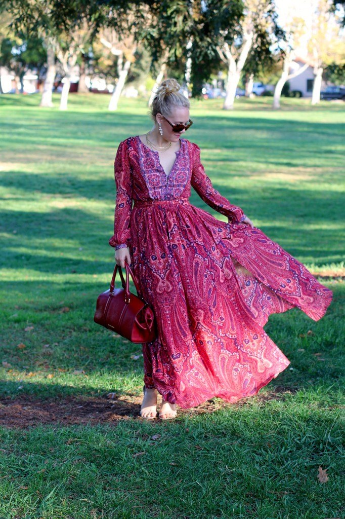 Joie Molly Maxi Dress-Fall Floral-Floral Joie Maxi Dress-Outfit Inspiration-Fashion Blogger-SF Fashion Blogger-Rent the Runway-Unlimited-Rocksbox-Jewelry Subscription-Have Need Want