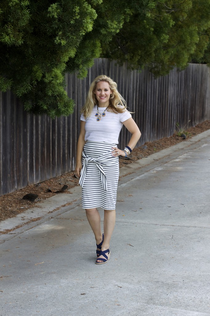 Kingdom & State Joie Clothing Summer Style Stripes on Stripes Target Style Fashion Blogger Bay Area 8