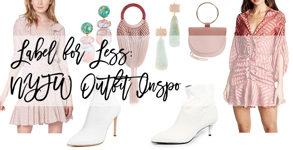 Label for Less: NYFW Outfit Inspiration