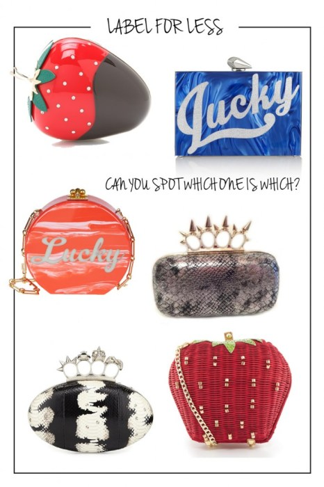 Label for Less: Playful Statement Clutches