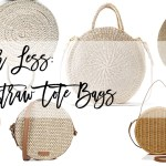 Label for Less: Round Straw Bags