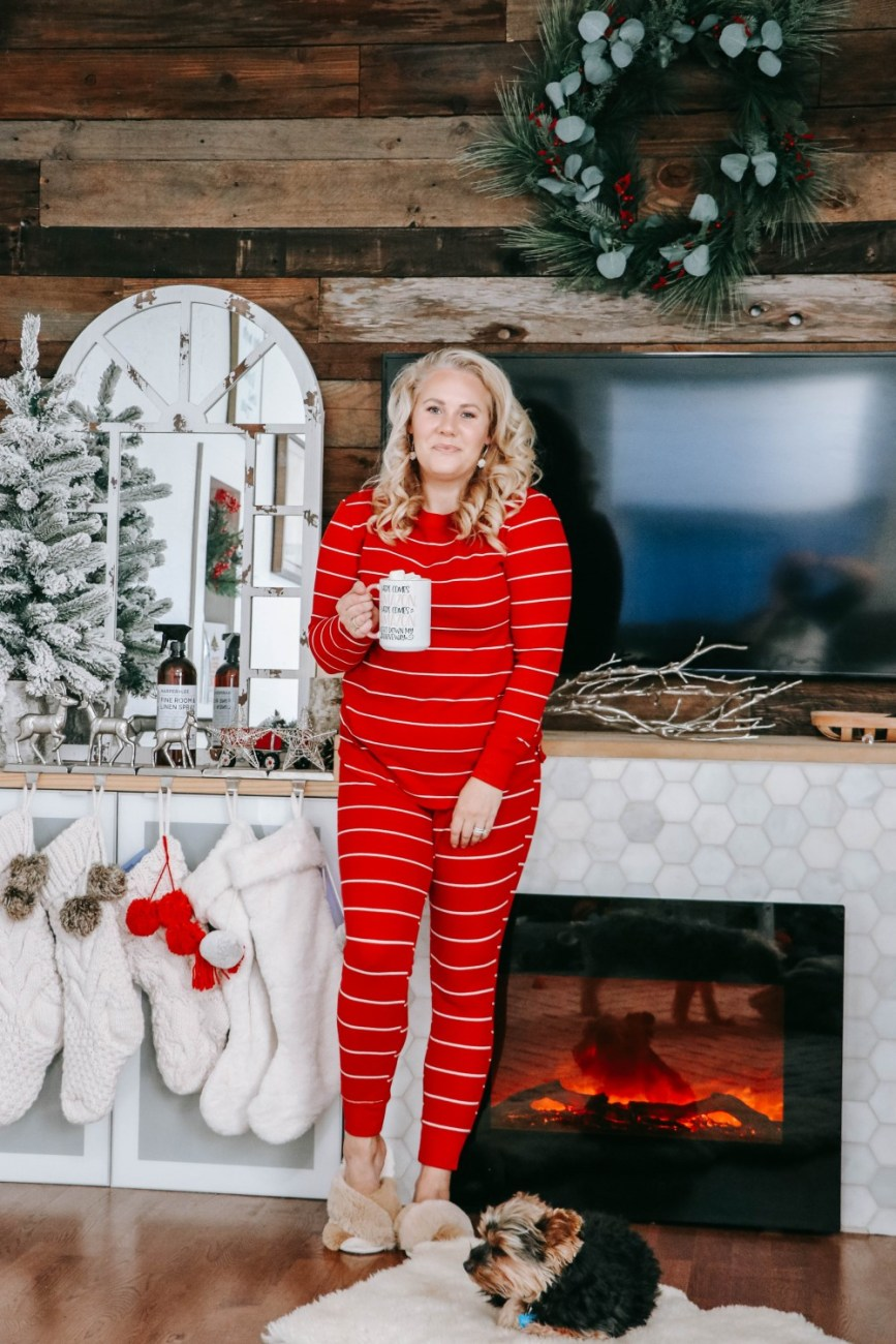 Sharing my current favorite loungewear sets to keep you stylish all winter! #holidayjammies #loungewear #loungewearsets