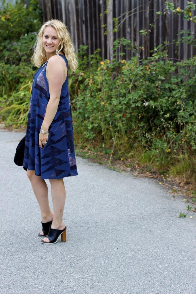mara hoffman sleeveless swing dress Mara Hoffman Summer Shift Dress Sleeveless Dress Fashion Blogger SF Based Fashion Blog 9