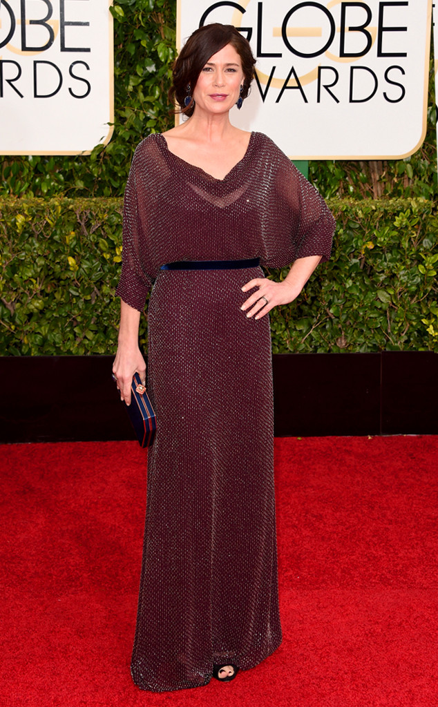 Maura Tierney in Jenny Packham