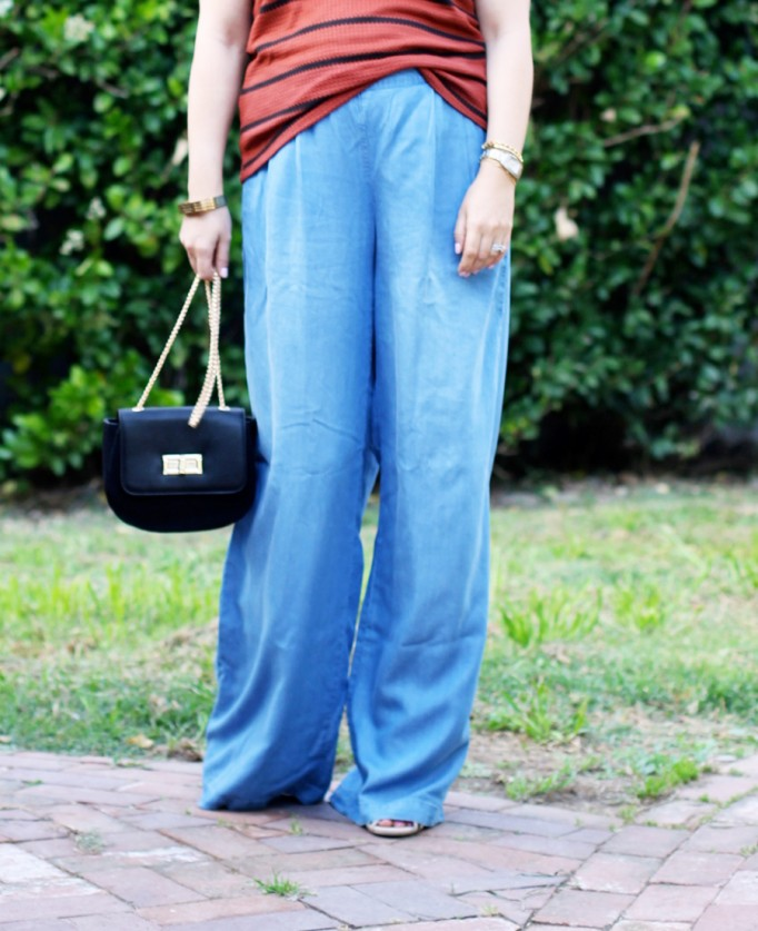 Memorial Day Outfit-Target Style-Who What Wear for Target-Maternity Style-Chambray Wide leg Pants-Have Need Want 8