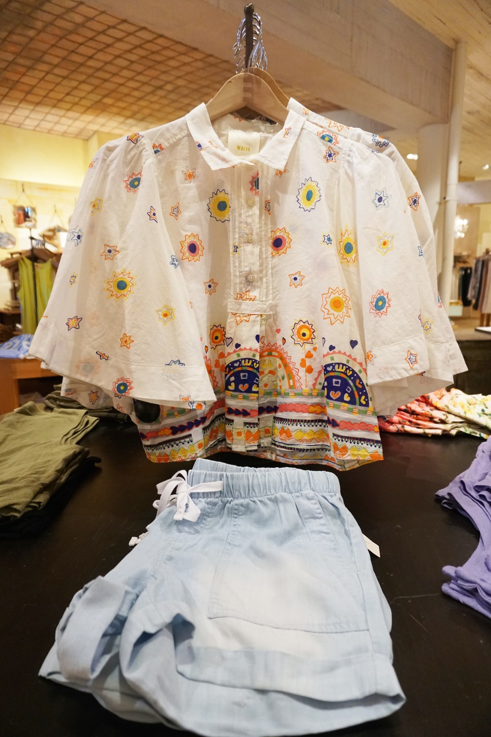 Mother's Day Gift Guide with Santana Row-Anthropologie-Nursing Friendly Top