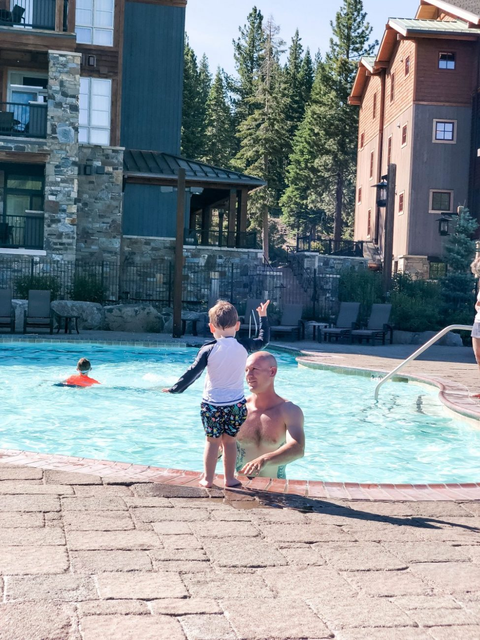A review if Northstar Lodge a Welk Resort and a peak into our two bedroom suite that we had on our recent family vacation to North Lake Tahoe. Head on over to the post to check it out and learn how we saved over $150 on our reservation off the lowest price listed online for two nights. #hotelreview #northstarlodge #northstarresort #northlaketahoe #familyvacation #jifutravel