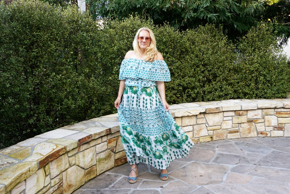 Off The Shoulder Maxi Dress-Temperley London-Outfit Inspiration-Wine Tasting-Visit Carmel by the Sea-Have Need Want 11