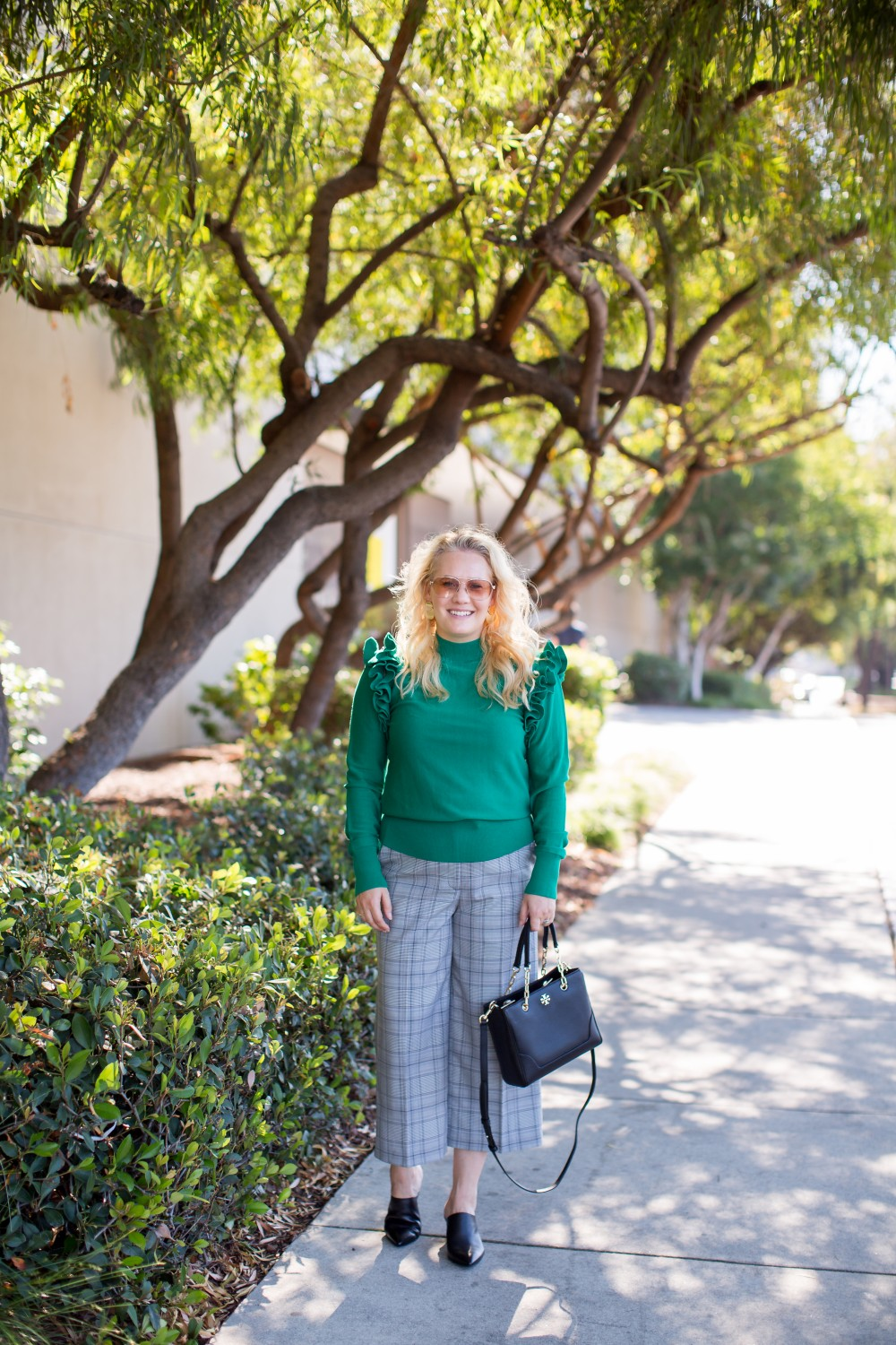 One Detachable Sleeve Sweater, Two Ways to Wear, Halogen Sweater, Halogen Plaid Pants, Nordstrom Anniversary Sale 2018, Have Need Want