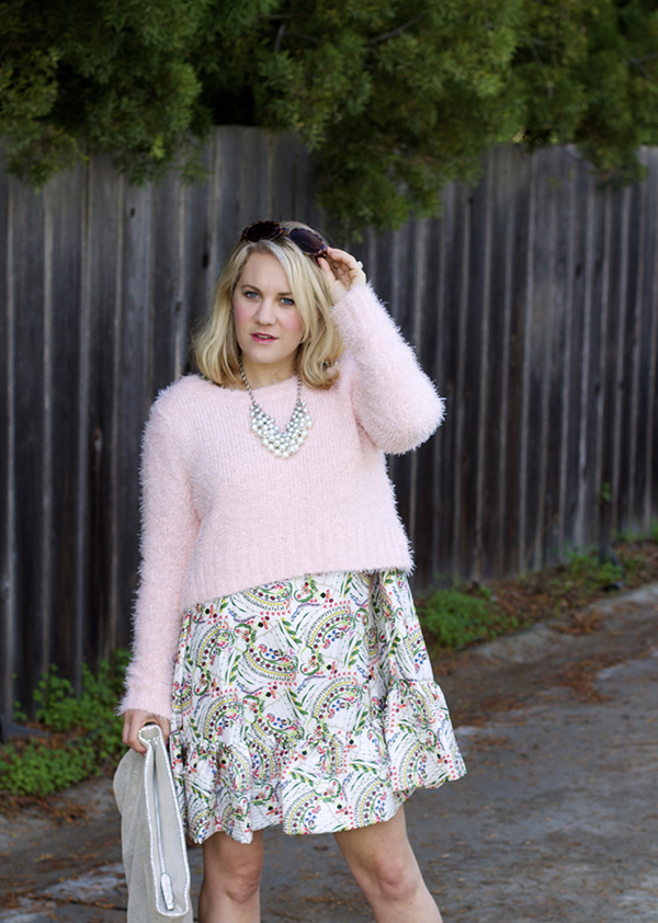 pastel pink, pink for fall, target style, cynthia rowley, shopbop, sf blogger, fashion blogger