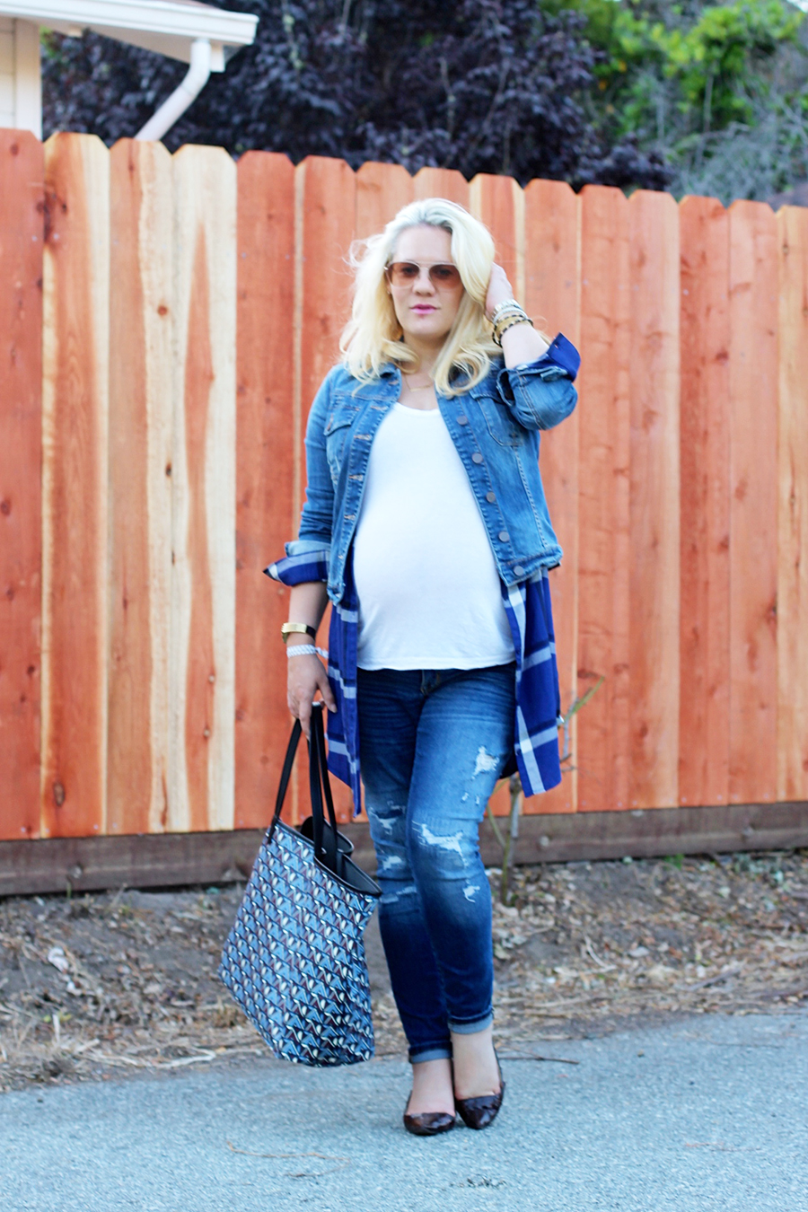 Plaid Shirtdress-Maternity Style-Styling Your Baby Bump-Styling Tips-Pregnancy Style-Have Need Want 10