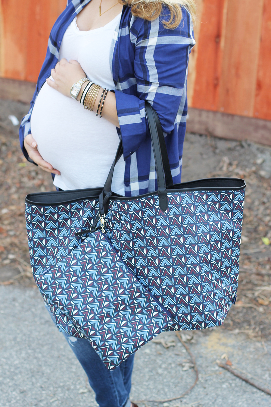 Plaid Shirtdress-Maternity Style-Styling Your Baby Bump-Styling Tips-Pregnancy Style-Have Need Want 2