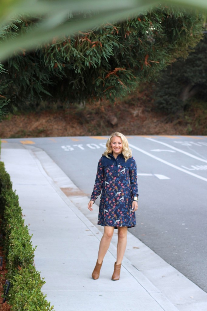 See by Chloe-Have Need Want-Bay Area Fashion Blogger-Kenneth Cole Reaction-Booties-Fall Style-Bauble Bar-Olivia Palermo for Bauble Bar-Shirt Dress-Fall Shirt Dress-Outfit Inspiration 2