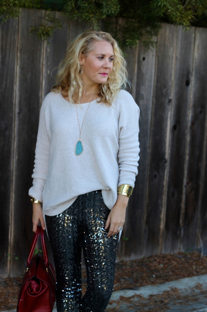 Sequin Pants-Holiday Outfit Inspiration-Have Need Want-Fashion Blogger-BB Dakota-Valentino-Burberry-Bay Area Fashion Blogger 6